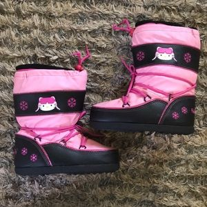 💗Super Cute Hello Kitty Snow Boots💗